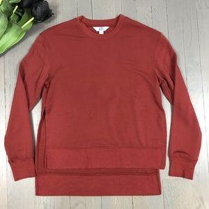 Joy Lab Side Slit Athleisure Lounge Sweatshirt Top